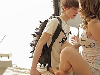 Seduction Of A Sweet Brunette Teen Leads To Hot Sex