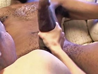 Hot White Brunette Mom Gags And Drools On Mr 18 Inch